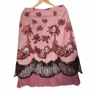 2/$50 April Cornell Prairie Skirt